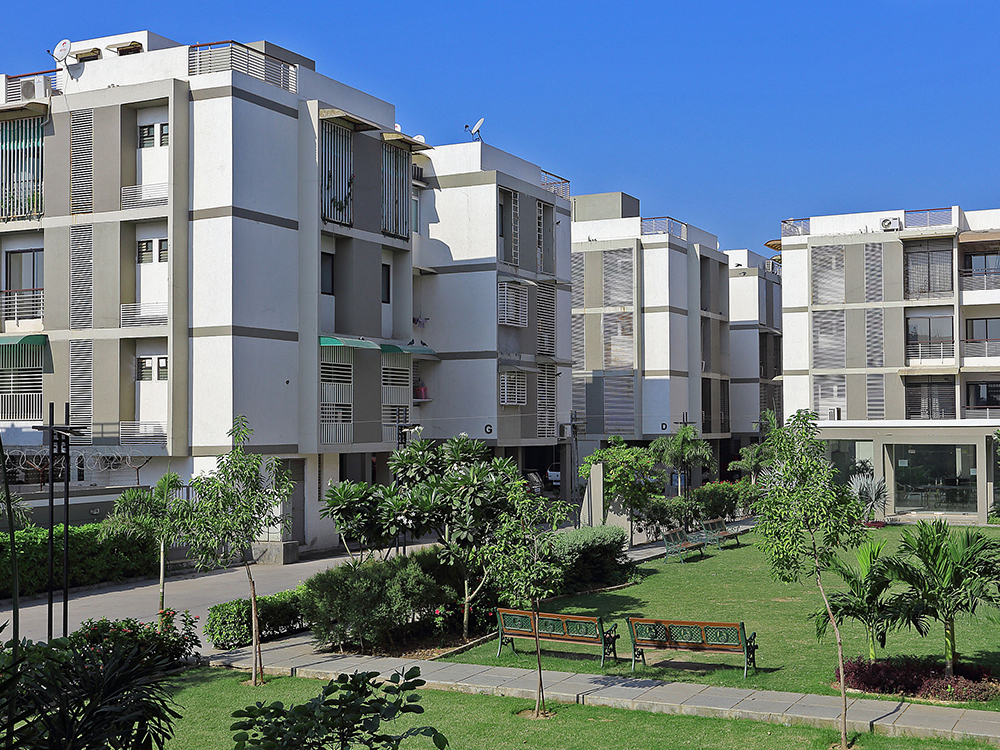 Modern Infrastructure With Natural Touch Ahmedabad Rej Properties